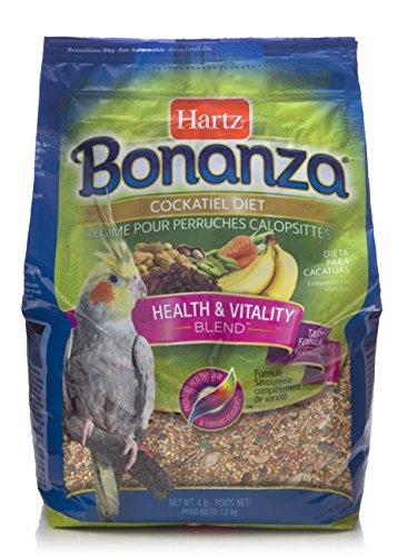 HARTZ Bonanza Gourmet Cockatiel Bird Food - 4lb