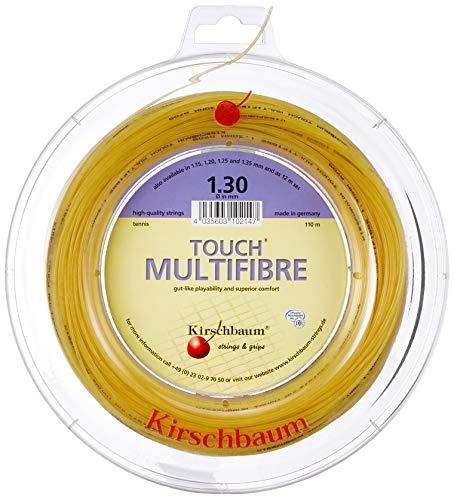 Kirschbaum Reel Touch Multifibre Tennis String, 1.25mm/17-Gauge, Natural