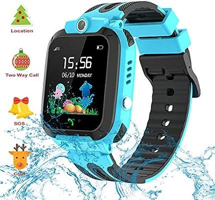 Vannico Smartwatch Niños, Reloj GPS Niño Inteligente Niña IP68 ...