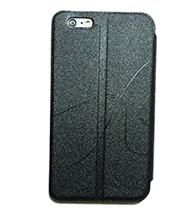 Iphone 6 Case 4.7 Inch - Leather Wallet Case Cover for Iphone 6 New Cool Design (Black) by lolosakes