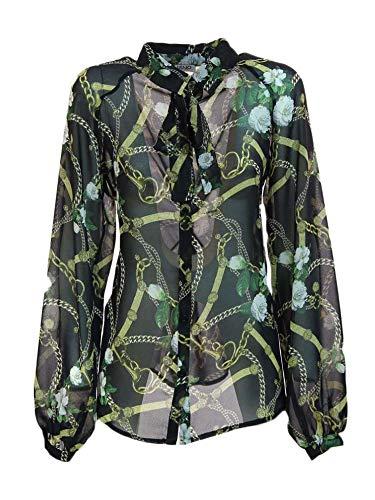 Camisa Jo W19273t0197 Liu Negro Mujer 0zvBqqw
