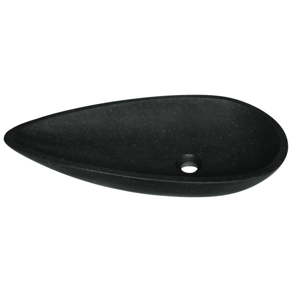 863 Black Honed Basalt Vessel Sink