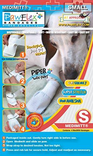 Pictures of Pawflex Bandages Medimitt BandagesPets (Pack of 4) ROM003 4