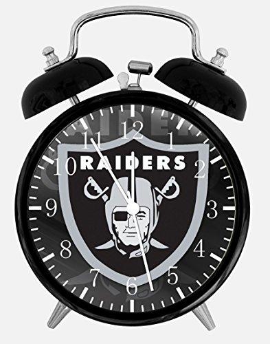 (Raiders Alarm Desk Clock 3.75