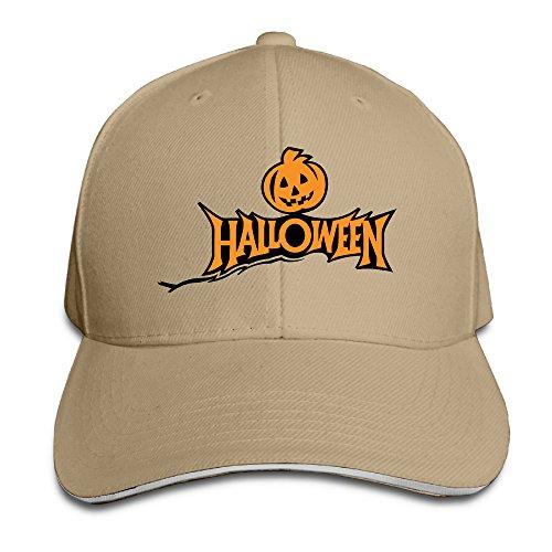 [ACMIRAN Halloween Pumpkin Adjustable Hats One Size Natural] (Sports Related Halloween Costumes 2016)