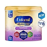 Enfamil NeuroPro Gentlease Infant Formula - Clinically Proven to reduce fussiness, gas, crying in 24 hours - Brain Building Nutrition Inspired by breast milk - Reusable Powder Tub, 20 oz (Pack of 6): more info