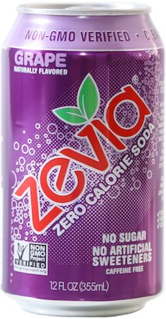 [Zevia All Natural Soda, Grape, 12-Ounce Cans (Pack of 24)] (Natural Jungle Gym)