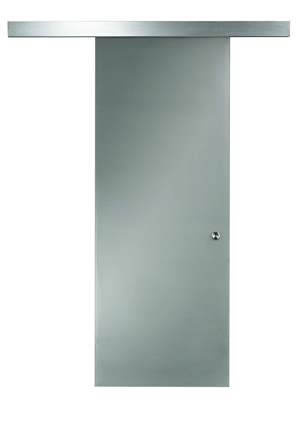 Pinecroft 8BDGL3696OP Opaque Interior Glass Barn Door, 36'' x 96'' by LTL Home Products
