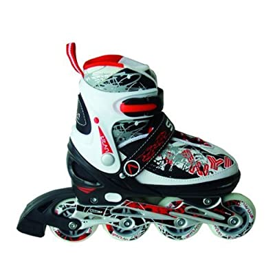 Inliner In-Line Skates Adjustable from Size 5-8 by Spartan
