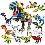 Dinosaurs Building Toys,Dinosaur Mini Building...