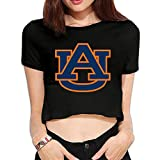 TLK Custom Women Auburn University Midriff Tshirt