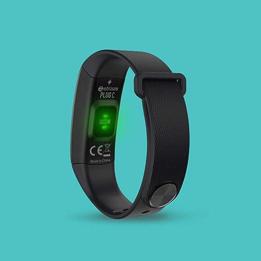 Zeblaze Plug C Smart Bluetooth Pulsera Pulsómetro Monitor Fitness Tracker Smart Watch para Samsung, LG, OPPO, Xiaomi: Amazon.es: Electrónica