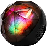 Portable Bluetooth Speakers, VersionTECH. Mini LED Colorful Wireless Stereo Ball Speakers with Remote Control,Build-in Rechargeable Battery,Support TF Card for iPhone Samsung Laptop and More Devices