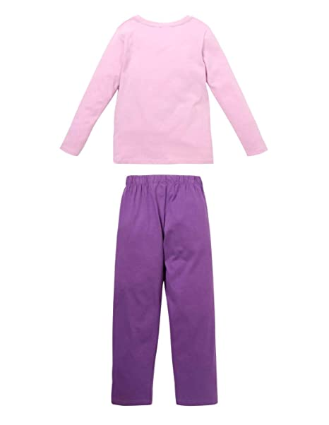 Prosecco Pijamas de Forro Polar Mujer Negro Casa Dos Piezas Novedad Franela