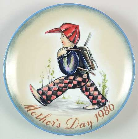 Schmid Mothers Day Plate - 3