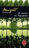 Un crime en Hollande par Simenon