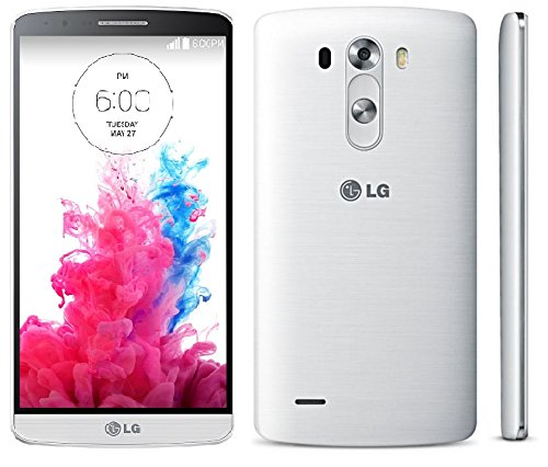 LG G3 D850 32GB AT&T + GSM 4G LTE Quad-HD Smartphone - Silk White