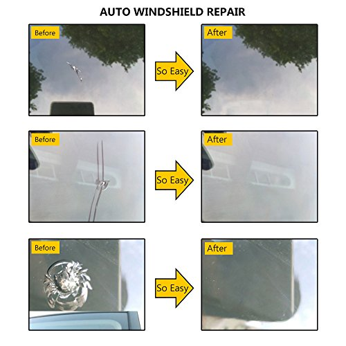 Mookis Windshield Repair Kit to Fix Car Cracks,Chips,Bull's Eyes and Starts by Mookis (Image #5)