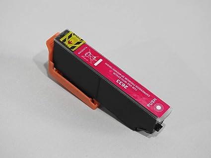 Cartucho de Tinta Compatible con Epson T2633 Magenta Serie Oso ...
