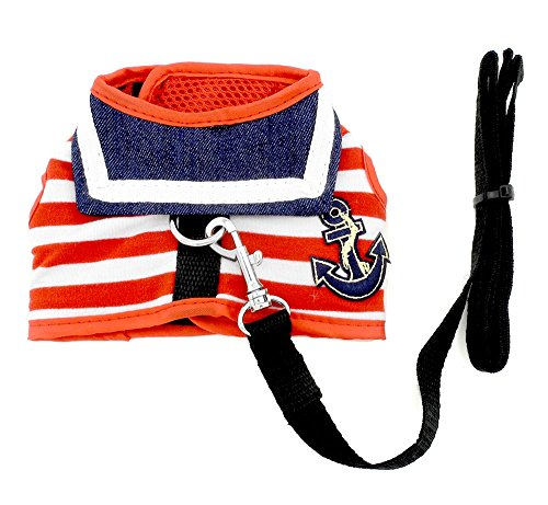 SMALLLEE LUCKY STORE Clothes Striped Sailor Harness