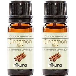 100% Pure Cinnamon (Bark) Essential Oil 10ml, 50ml, 100ml (2 x 10ml)