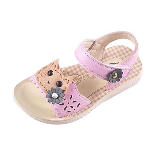 c00459322b Sandalias para Niñas Playa Verano 2019 PAOLIAN Zapatos Princesa Fiesta  Vestir Bebés Primeros Pasos Calzado Casual