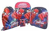 Marvel Spiderman 4 Piece Children's Luggage set