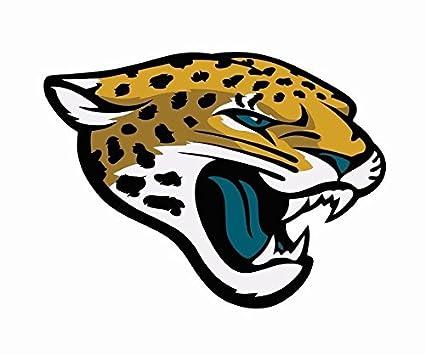02a4a638 Amazon.com: Jacksonville Jaguars Window Decal   3 Size NFL Football ...