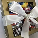 Candy Bar Bliss Gift Box Basket Prime for Chocolate Lovers Sweet Happy Birthday Valentines Easter Christmas Thank You Office Business College Student Care Package Men Women Approx 3 Lbs 22 Count