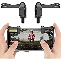 ACROMAX PUBG Gaming Controller/Joystick for Mobile Trigger - Fire Button & Assist Tool for Smartphones for Xiaomi Mobiles - Black