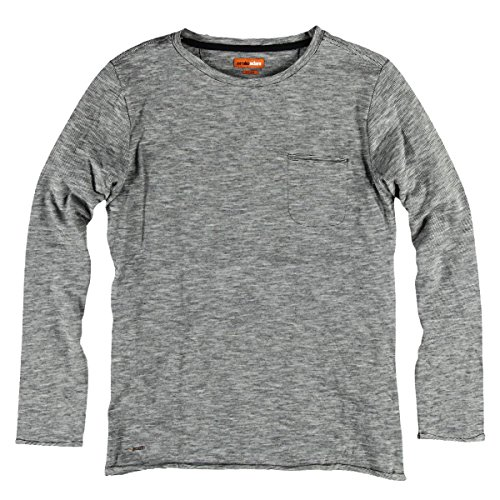 emilio adani Herren Rundhals Shirt, 25225, Grau