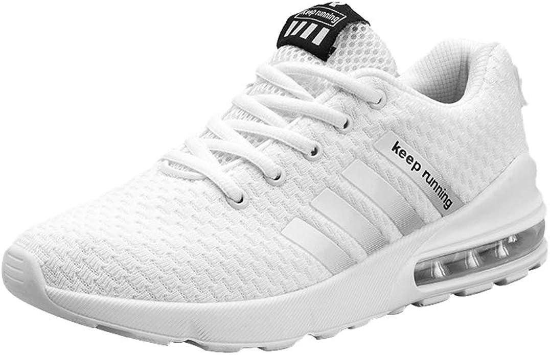 Zapatillas de Deportes para Hombre - Respirable Deportivos Al Aire Libre Zapatillas Hombres Moda Sneakers Antideslizantes Zapatos para Escalada Running: Amazon.es: Zapatos y complementos