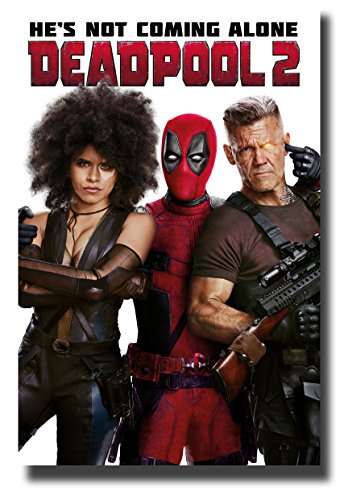 Deadpool 2 Poster Movie Promo 11x17 inches Dead Pool Thr