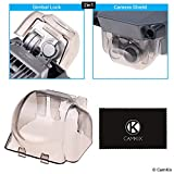 2in1 Gimbal Lock and Camera Shield for DJI Mavic Pro - Locks the Position of the Gimbal - Shields the Camera Against Impacts - Essential Drone Protection Kit - Guards Expensive Parts - CamKix Quality
