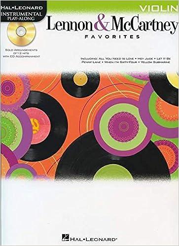Libérez-le pdf books download Lennon & McCartney Favorites For Violin - Instrumental Play-Along (Bk/Cd) en français PDF FB2 iBook