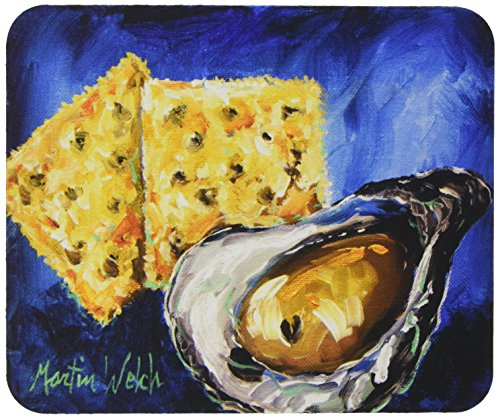 Caroline's Treasures Oysters Two Crackers Mouse Pad/Hot P...