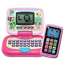 LeapFrog My Own Leaptop and Chat and Count SmartPhone Bundle - Girl (Pink & Purple) by LeapFrog