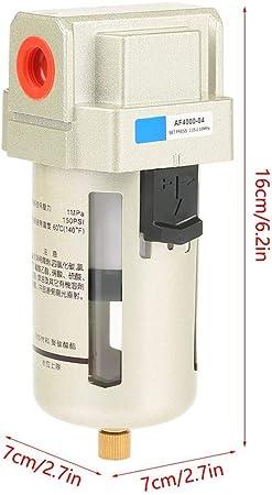 AF4000-04 PT1/2 Filtro de Agua de Humedad Filtro de Alta Precisión ...