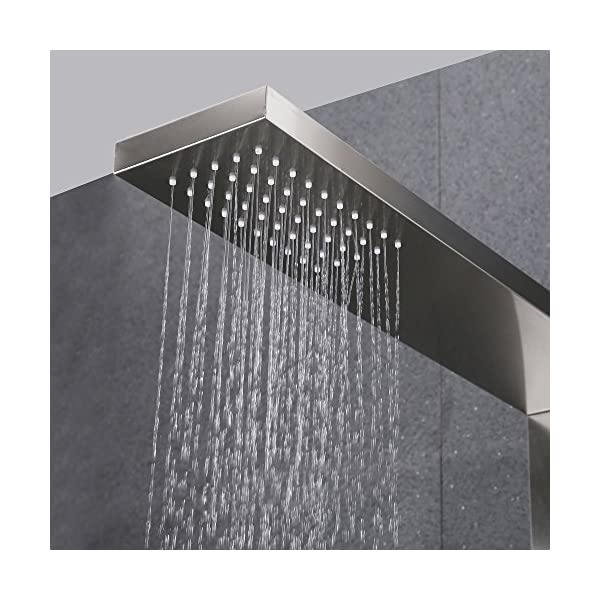 KES X6609-P Bathroom European Shower System Rainfall Shower Head ...