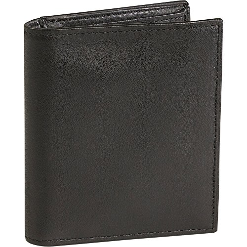 Johnston & Murphy Dress Casual Compact Wallet - Black