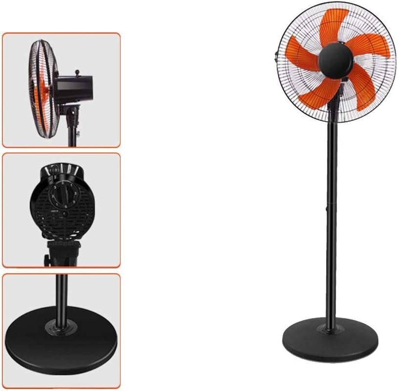 Lapden Ventilador eléctrico, soplador de Aire silencioso, Potente Ventilador de Turbo de circulador de Aire con Ventilador de ángulo Ajustable oscilante 3D y 3 Tipos ...