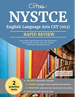 Nystce eas educating all students test 201 flashcard study nystce english language arts cst 003 study guide rapid review test prep and fandeluxe Gallery