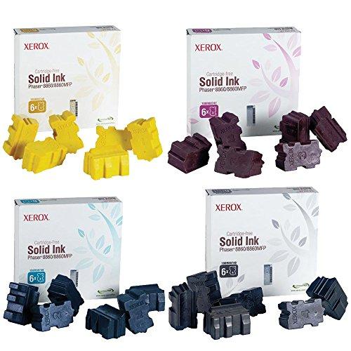 Xerox 108R00749, 108R00746, 108R00747, 108R00748 Ink Cartridge Set - Phaser 8860MFP