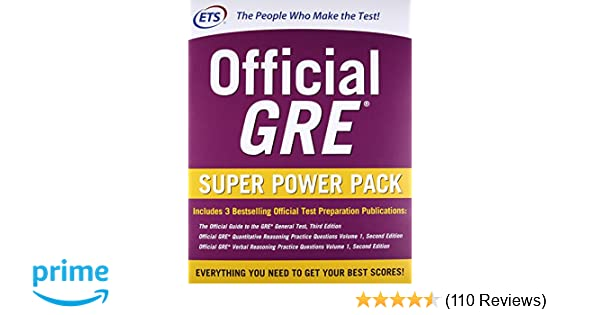 Official GRE Super Power Pack, Second Edition: Educational