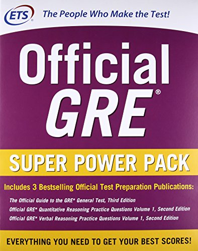 Official GRE Super Power Pack, Second Edition cover