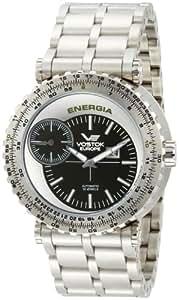 Vostok-Europe Men's 2441/5725112 Energia Automatic Green Dial Watch