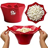 Foldable Silicone popcorn Maker Microwave bowl Popcorn Popper Maker Silicone Healthy Snack home DIY tools