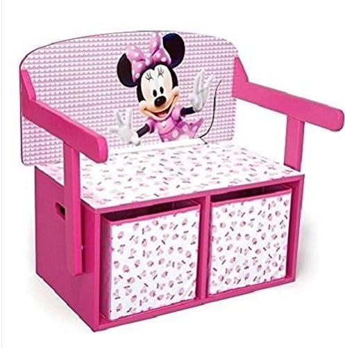 Minnie mouse caja de almacenaje – baúl para juguetes de madera ...