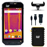 Cat Phones S60 Rugged Waterproof Smartphone with Integrated FLIR Camera ( Power Bank, Car Charger and Car Mount - $50 value)