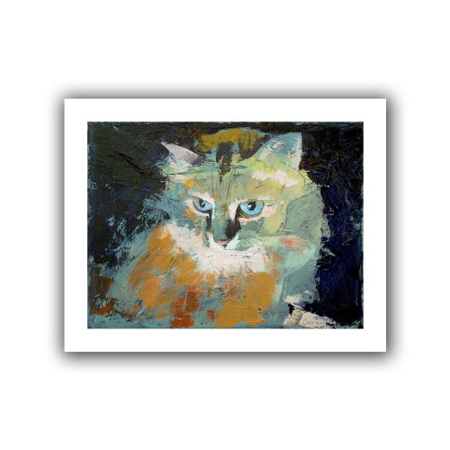 ArtWall Himalayan Cat Unwrapped Canvas Art by Michael Creese, 40 by 52-Inch ()